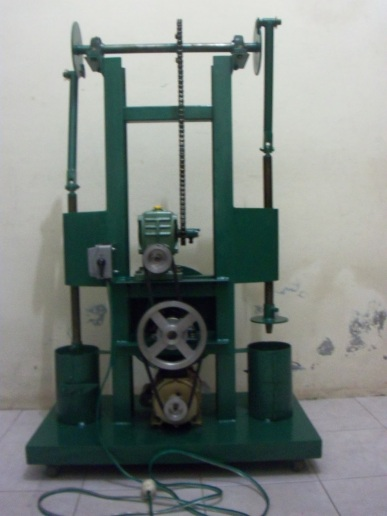 mesin press jamur 0.25 PK (depan)